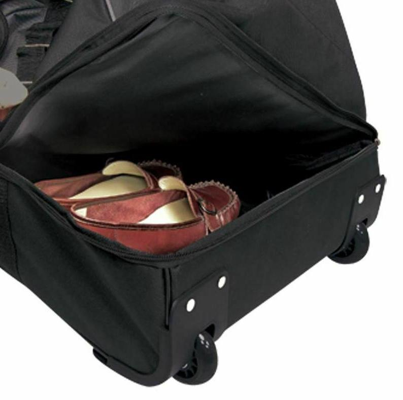 Duffel Bag With 36 Big 2 Rolling Travel