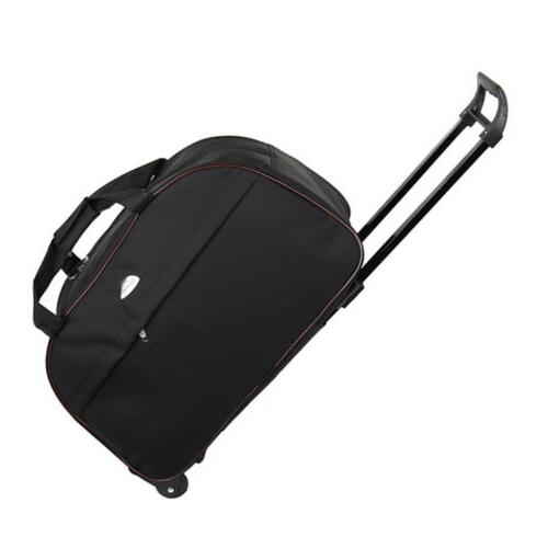 24 wheeled duffle bag rolling tote travel