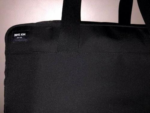 Jack Spade Duffle 'Overnight' Carry-On Luggage Black/Orange $498
