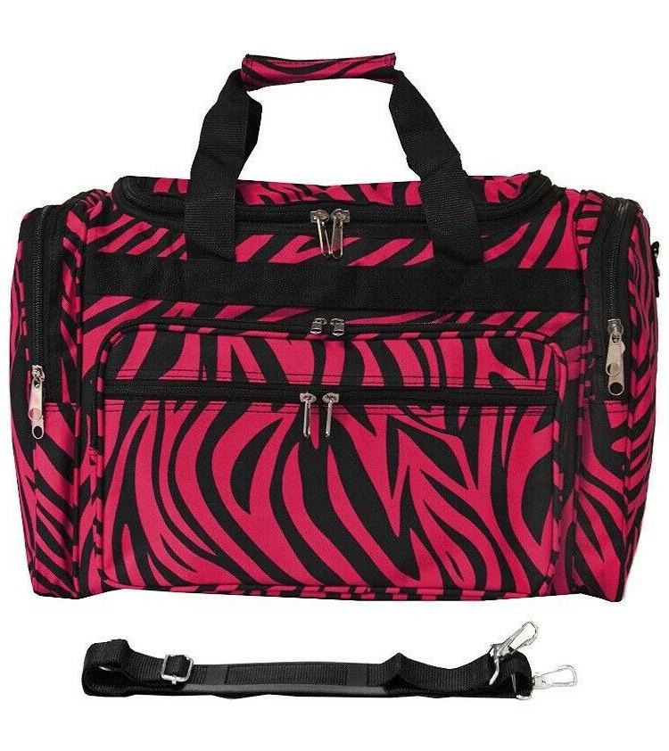FASHION DUFFLE BAG LUGGAGE CARRY-ON BAGGAGE WEEKEND