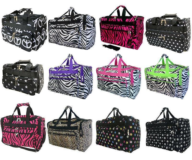 fashion duffle bag luggage carry on baggage