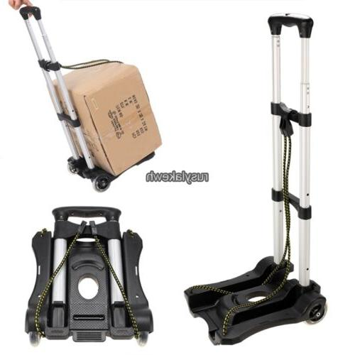 folding luggage cart suitcase carrier rolling wheeled