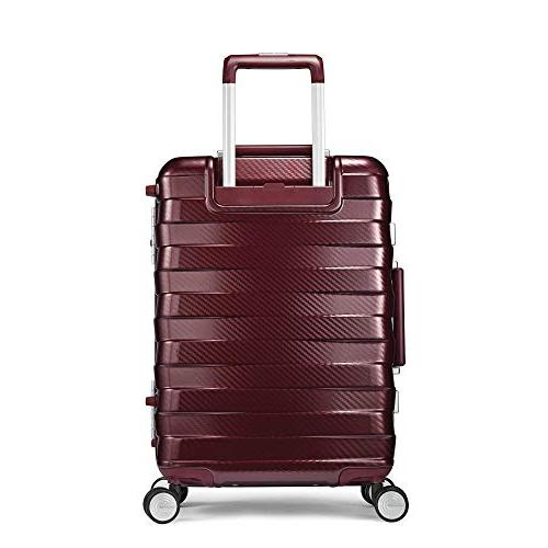 Samsonite Carry On Luggage Spinner Wheels, 20 Inch, Ice Blue
