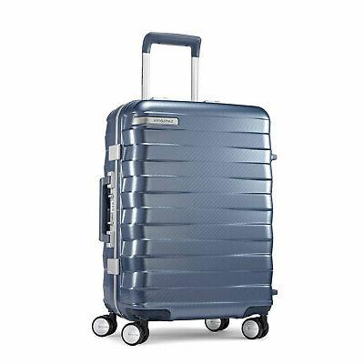framelock hardside carry on luggage with spinner