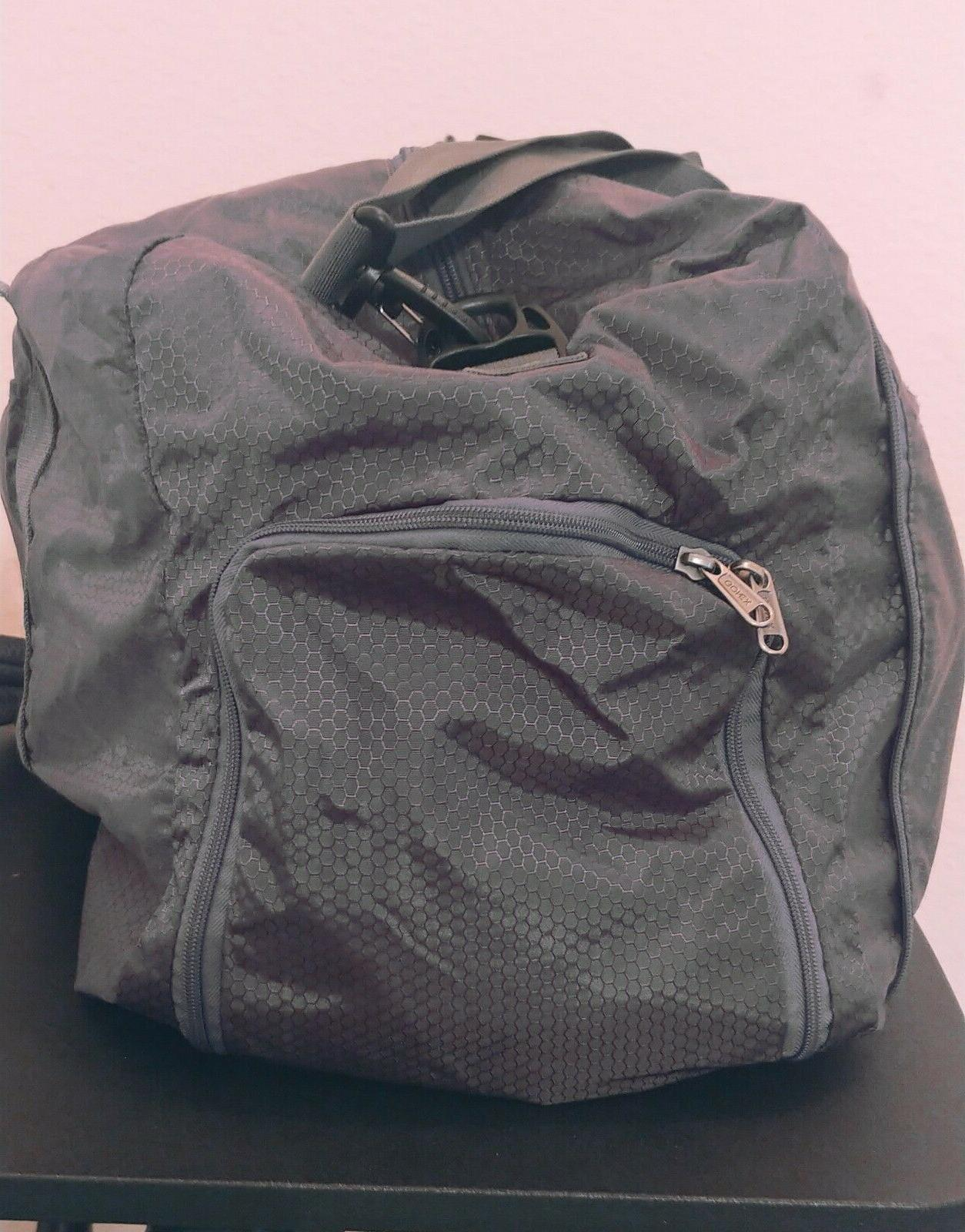 Gray Gonex Weekender Foldable Outdoor Luggage
