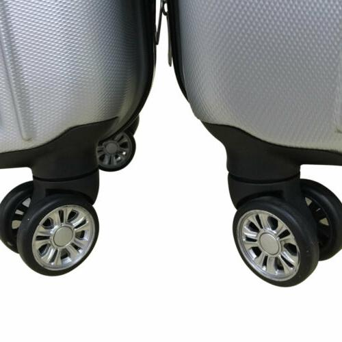 Hardside 3 Piece Spinner Luggage With