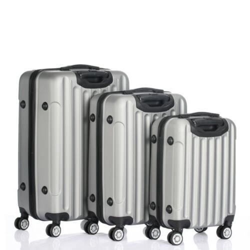 Hardside Piece Spinner Suitcase With TSA Lock