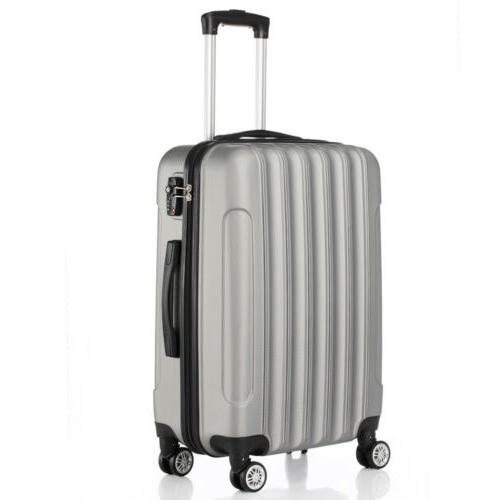 Hardside 3 Spinner Suitcase With Lock Grey
