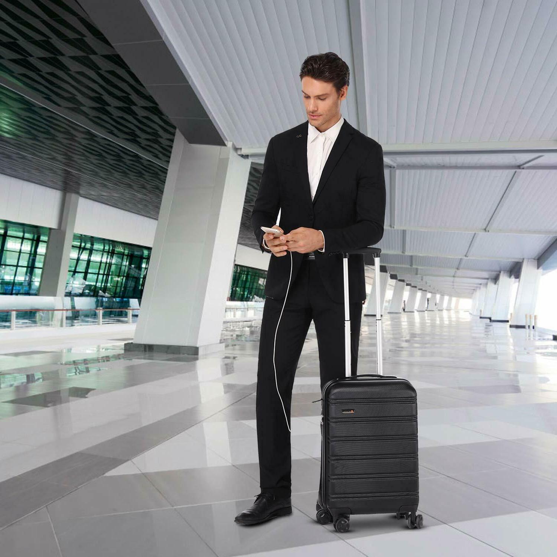 REYLEO Hardside 20 Inch Luggage