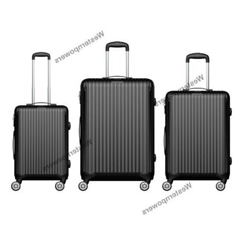 Hardside Spinner Luggage 3 24'' 28'' Trolley
