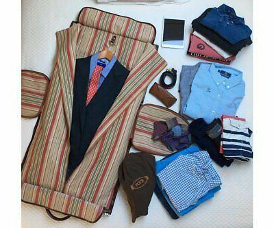 Cenzo Leather Bag Luggage Weekender Travel