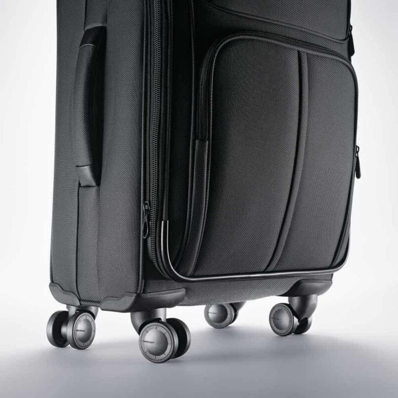 Samsonite Leverage Luggage Softside Spinner Wheels