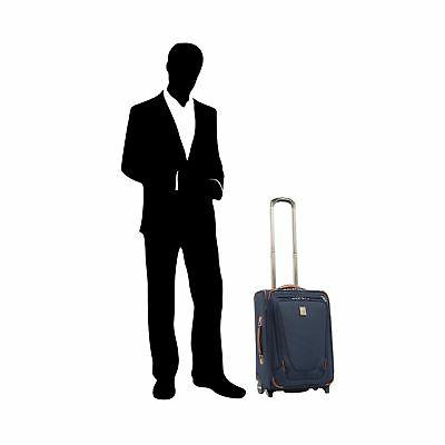 """Travelpro Crew 22"""" Carry-on Rollaboard w/Suiter"""