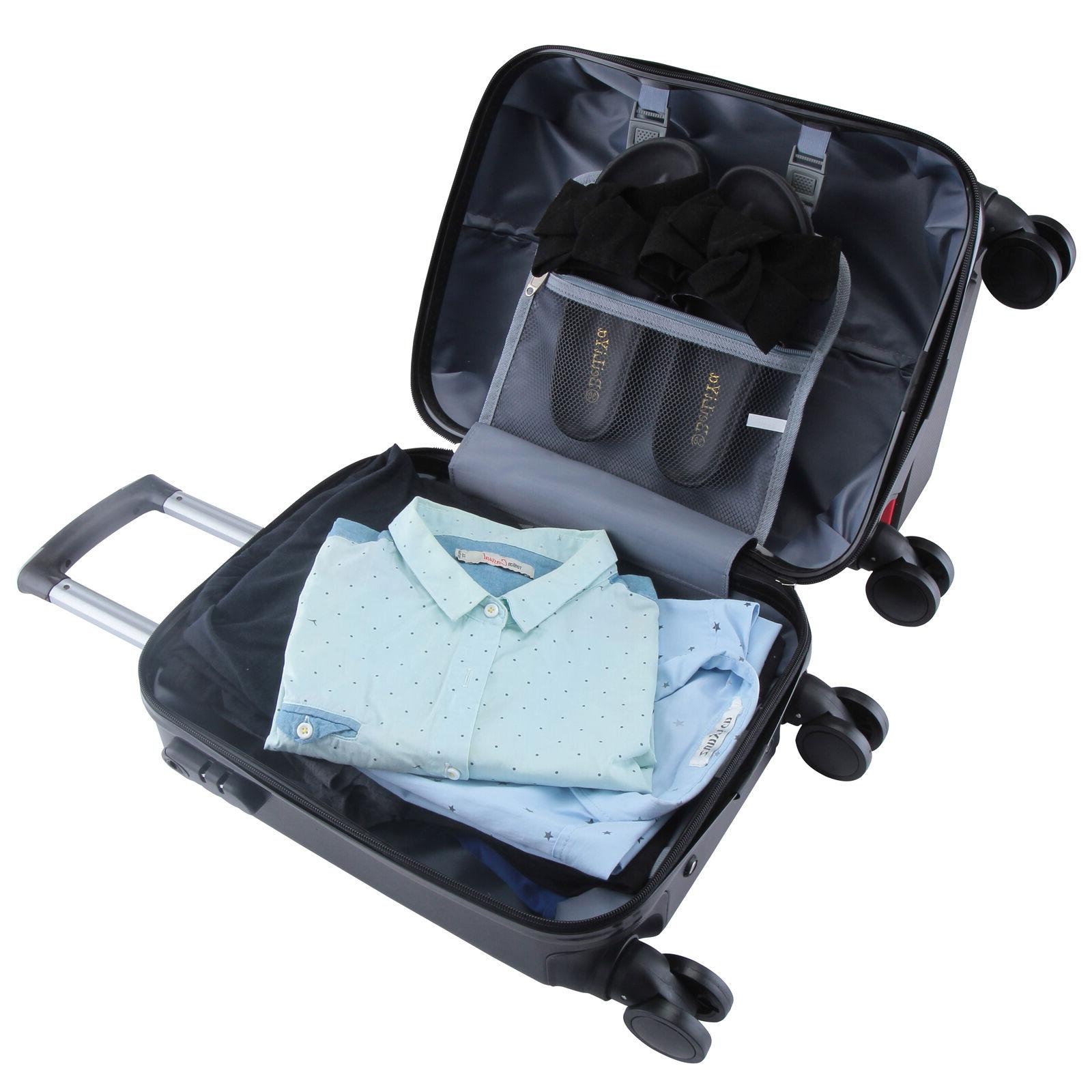 4Pcs Carry On Travel Bag