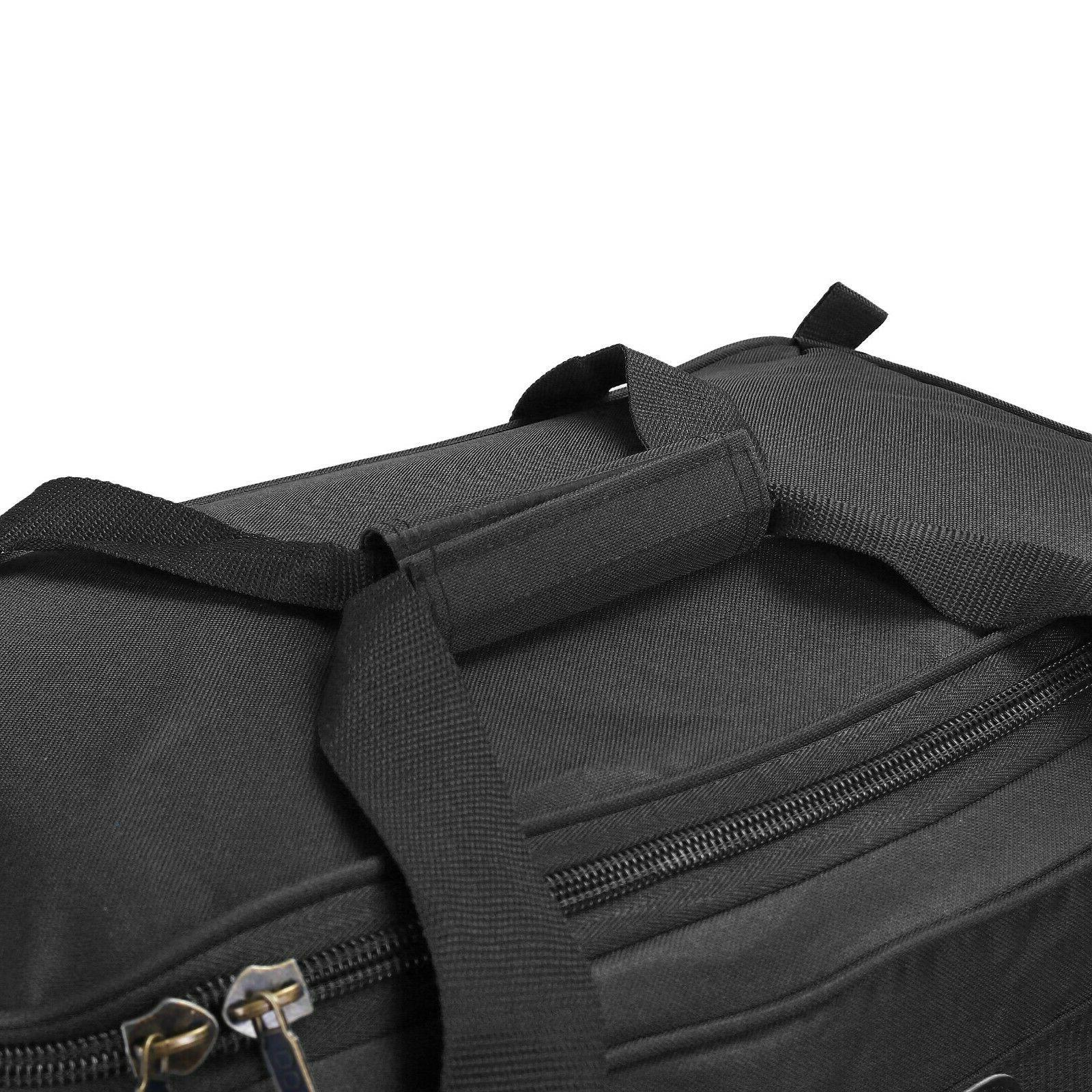 Luggage Rolling Wheeled Duffle Bag Carry