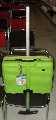Luggage World's First Patented Adjustable FUGU color GREEN