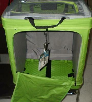 Luggage - World's First Patented Suitcase color GREEN