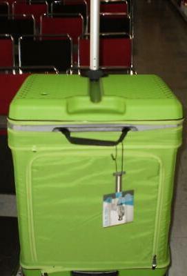 Luggage World's Patented Adjustable Suitcase FUGU color