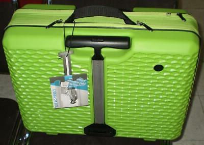 Luggage Patented Adjustable color GREEN
