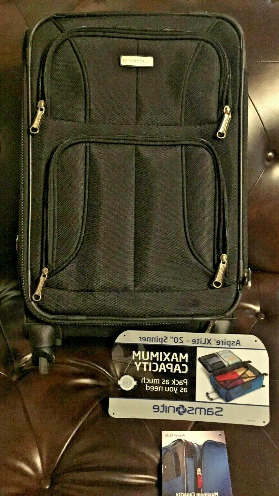 maxlite 4 expandable 21 inch spinner suitcase