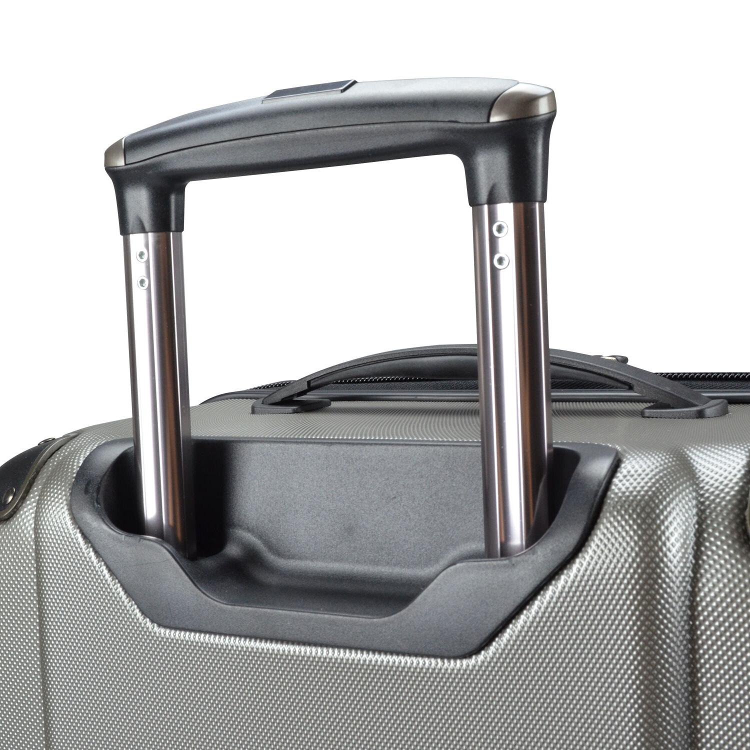 "Traveler's Choice Polycarbonate 28"" Suitcase"