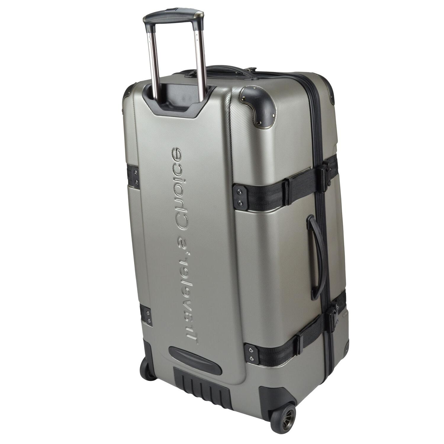 "Traveler's Choice Maxporter 28"" Rolling Suitcase"