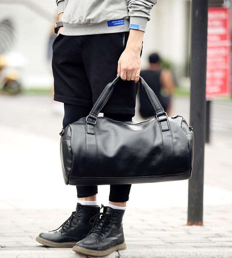 Men's Travel Luggage Tote Shoulder Bag