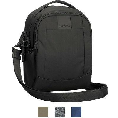 metrosafe ls100 anti theft crossbody bag
