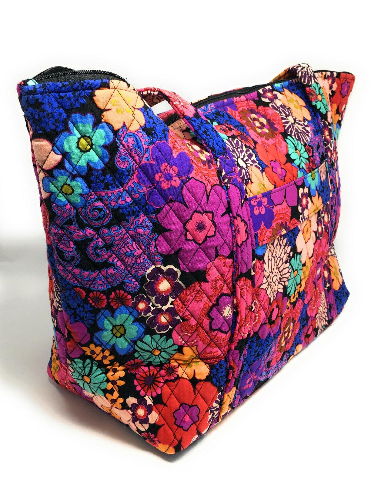 Vera Bradley Bag Carryon Floral $88.00 MSRP!