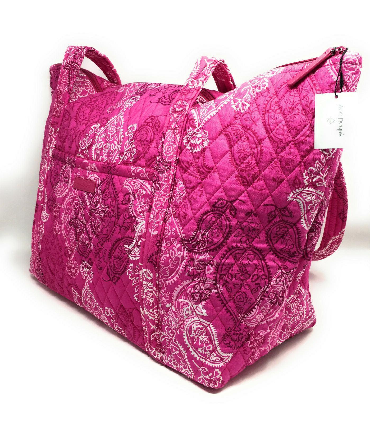 Vera Bradley Bag Carryon in Paisley NWT