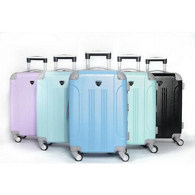"Travelers Club Luggage 20"" Hardside Carry-On NEW"