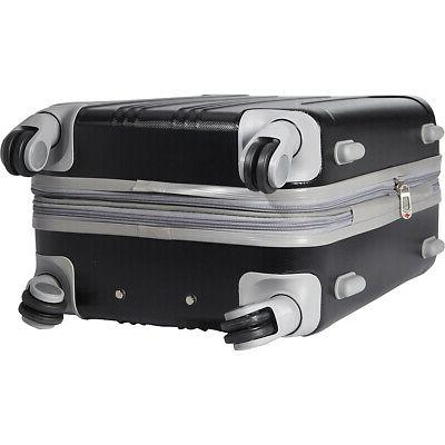 """Travelers Club 20"""" Expandable Carry-On NEW"""