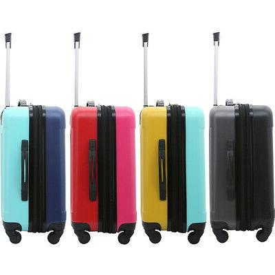 """Travelers Luggage 20"""" Expandable Carry-On"""