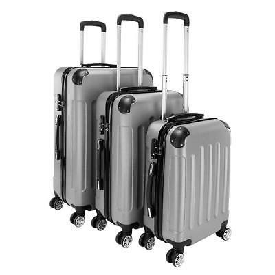 new 3 pieces travel spinner luggage set