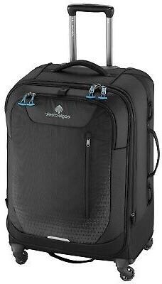 "NEW EAGLE CREEK EXPANSE 26"" AWD 4 WHEEL SPINNER LUGGAGE BLAC"