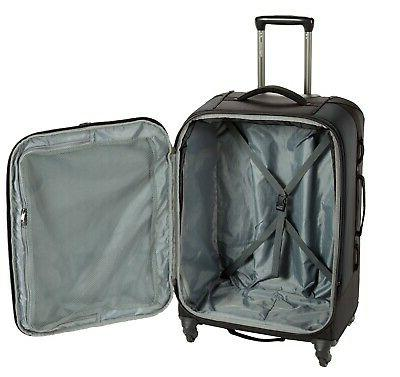 "NEW EAGLE 30"" AWD SPINNER LUGGAGE BLACK"