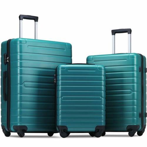 omni hardside luggages 3 piece luggage set