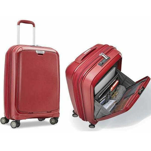 on board 20 spinner hardside luggage carryon