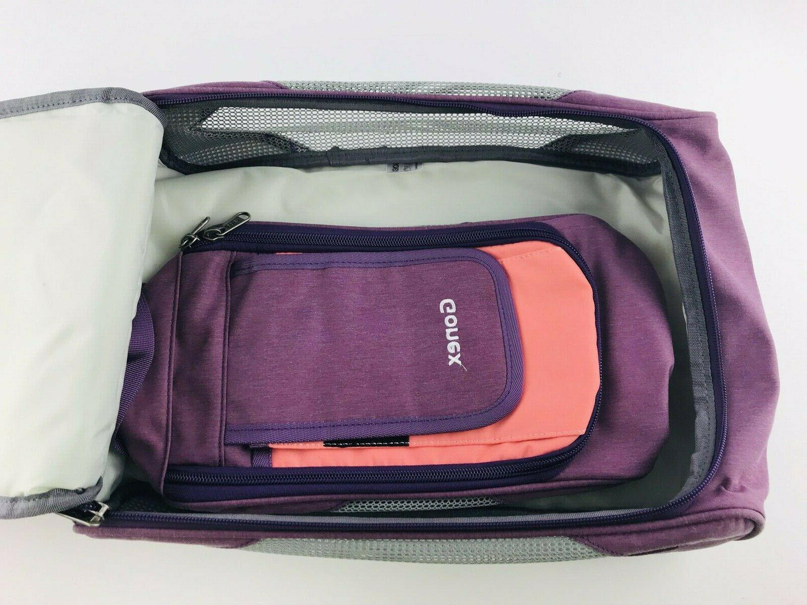 Gonex Pieces Pink Purple Luggage Organizers