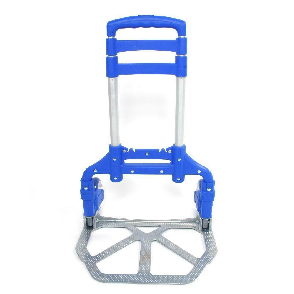 Portable Luggage Cart Includes Cord Rolling Trolley