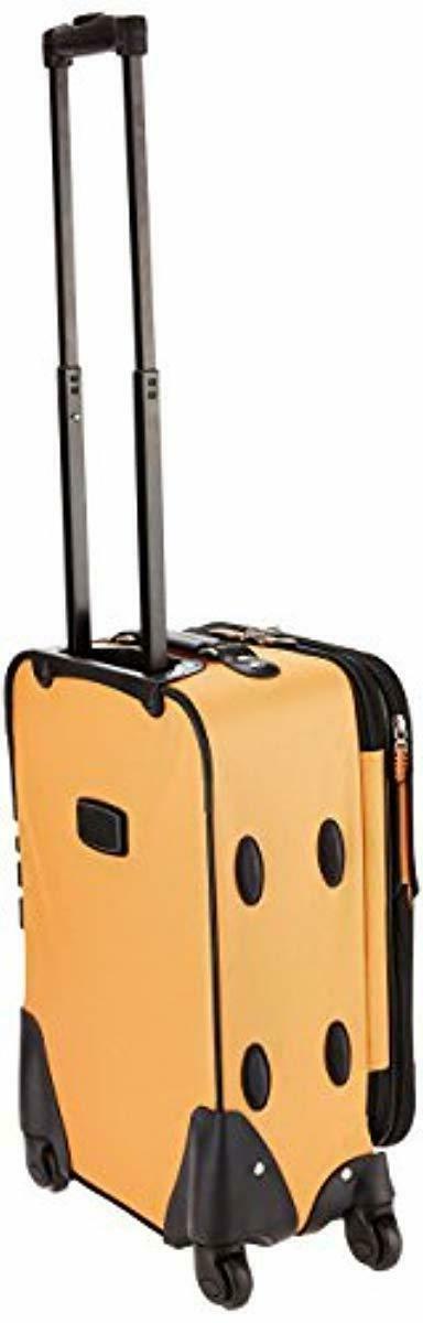 Rockland Luggage 19 Expandable Orange, Size