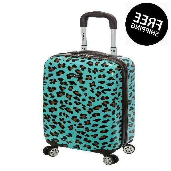 "Rockland Luggage 20"" Hard Sided Spinner Carry On Luggage F19"