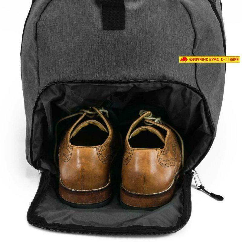 Shacke'S Travel Duffel Weekender Bag Carry On Po