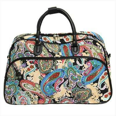 All-Seasons 21-inch Carry-On Tote Paisley