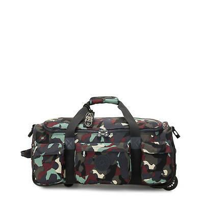 small carry on rolling luggage duffel camo