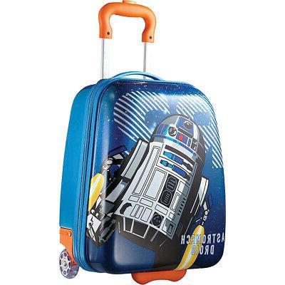 star wars 18 rolling upright kids luggage