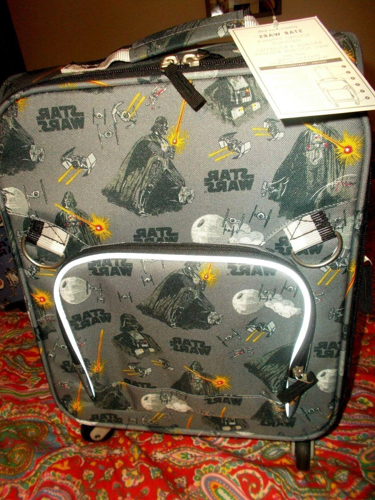 star wars rolling spinner luggage new darth