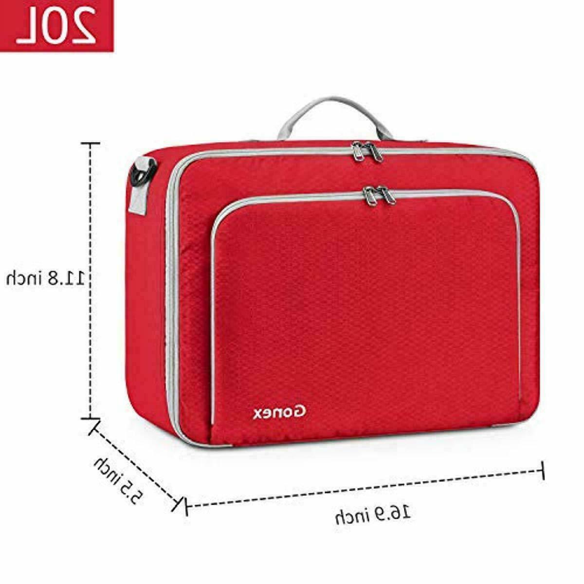 Gonex Travel Bag 20L Portable Carry or Blue