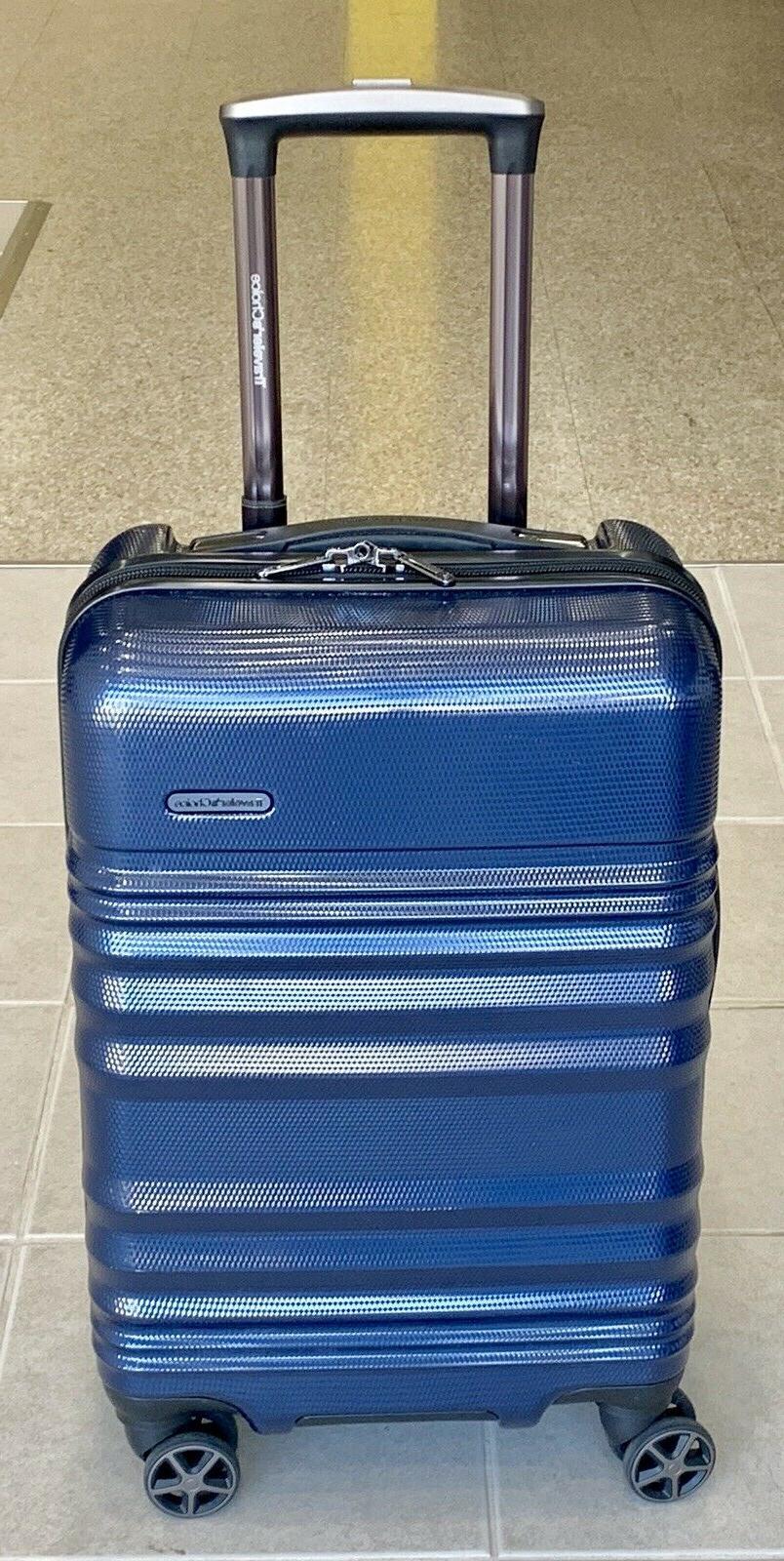 traveler s choice 21 carry on hardcase