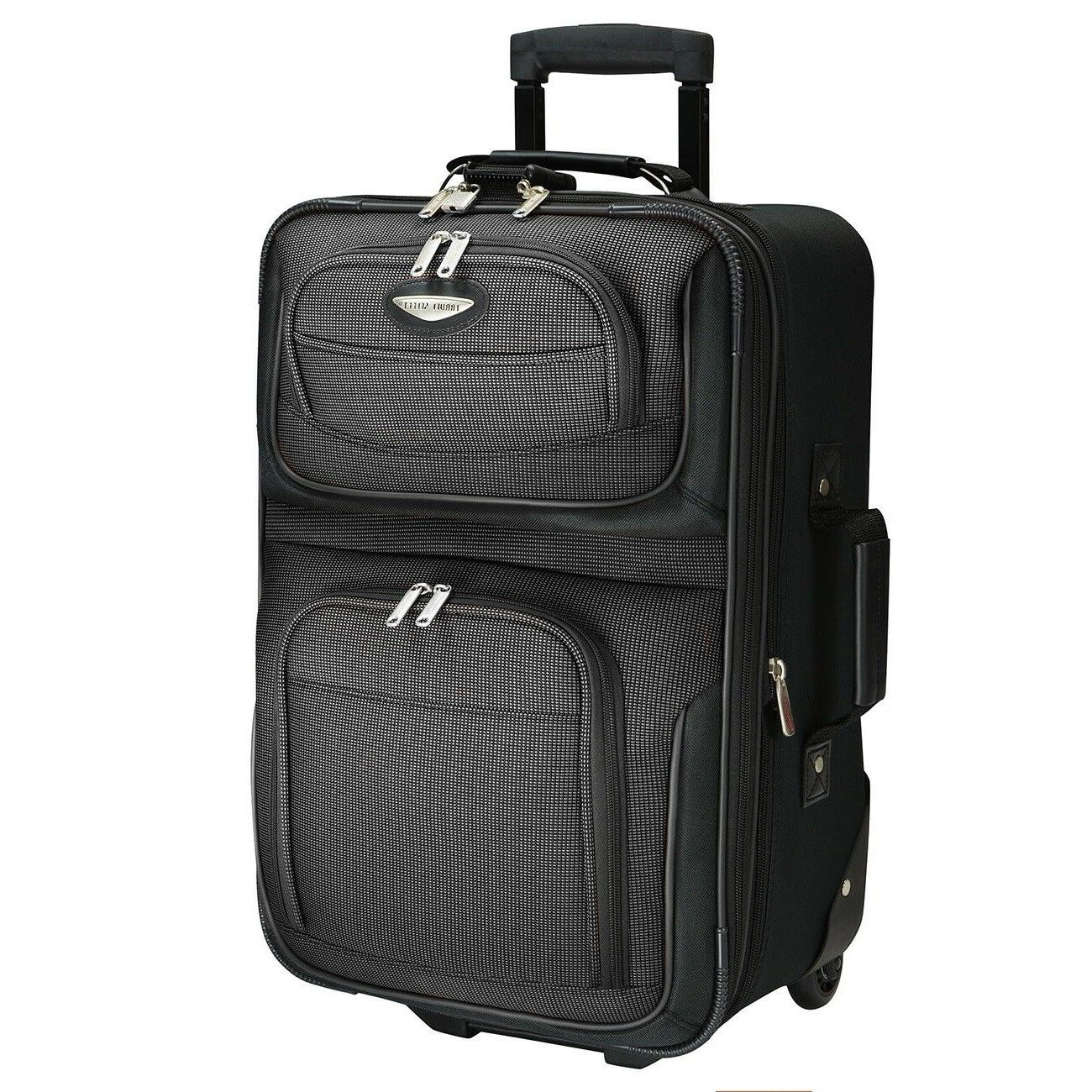Traveler's Carry-on Expandable Luggage Suitcase Bag